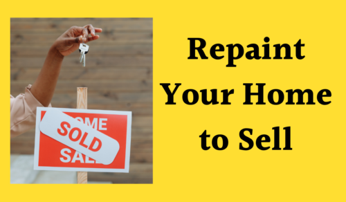 Repaint your home to sell, Read the blog here