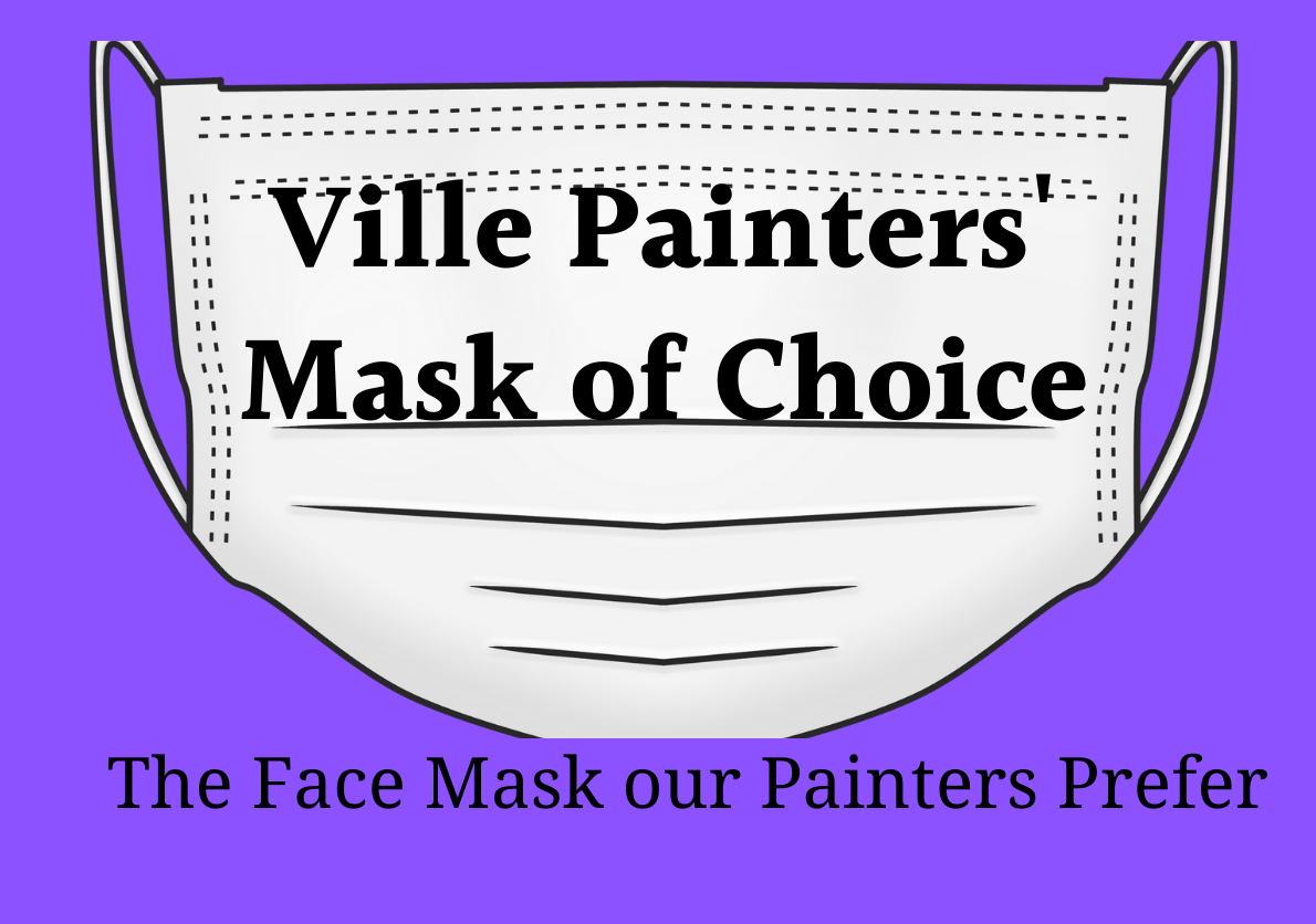 Ville Painters' Mask of Choice